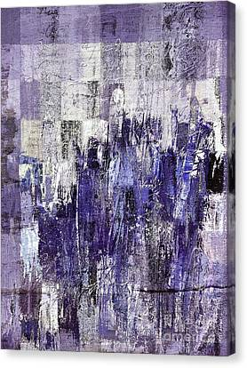 Canvas Print featuring the painting Ascension - C03xt-166at2c by Variance Collections