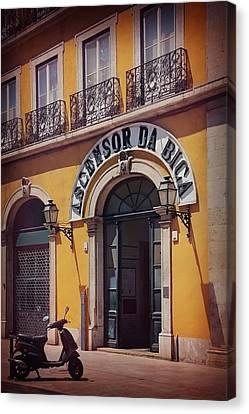Ascensor Da Bica Lisbon Canvas Print