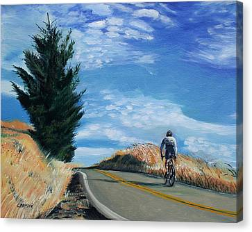 Ride Canvas Print - Ascent by Colleen Proppe