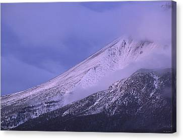 Ascent - Mount Shasta Canvas Print by Soli Deo Gloria Wilderness And Wildlife Photography