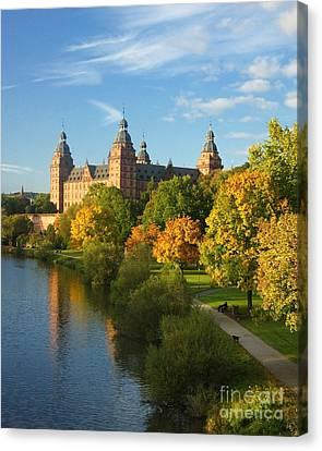 Aschaffenburg Bavaria 1 Canvas Print by Rudi Prott