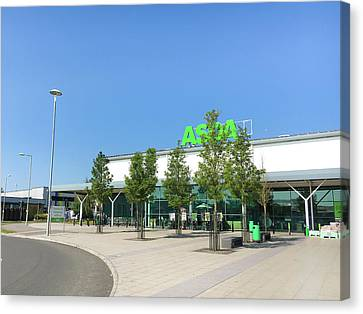 Asda Store Canvas Print by Tom Gowanlock