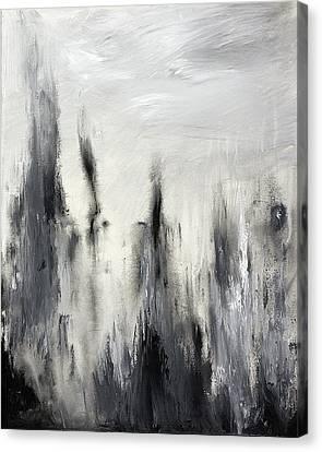 Ash Canvas Print by Silvie Kendall