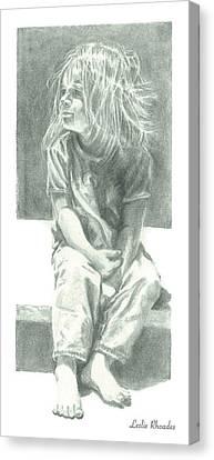 Canvas Print - Ashlee by Leslie Rhoades