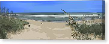 Ashore Canvas Print