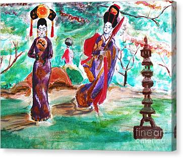 Asian Lovelies Canvas Print