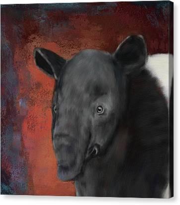 Asian Tapir Canvas Print
