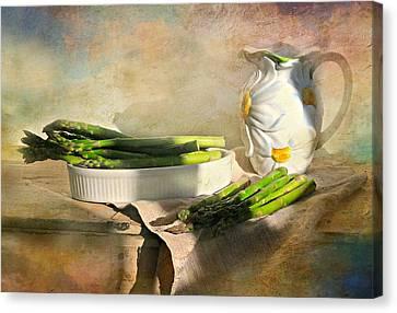 Asparagus Canvas Print by Diana Angstadt