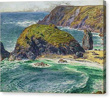 Asparagus Island Canvas Print by William Holman Hunt