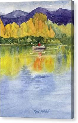 Aspen Afternoon Canvas Print by Kris Parins