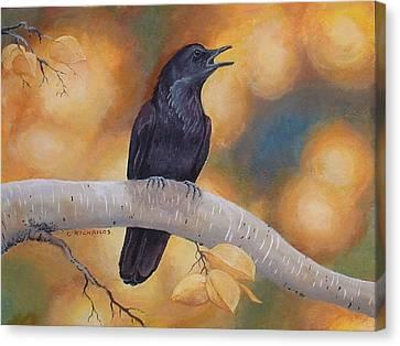Aspen Aura Canvas Print
