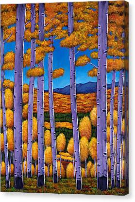Taos Canvas Print - Aspen Country II by Johnathan Harris
