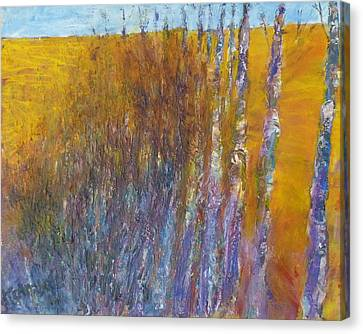 Aspen Canvas Print by Helen Campbell