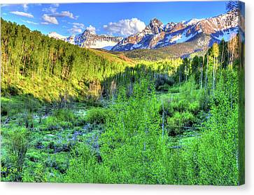 Fort Collins Canvas Print - Aspen View by Scott Mahon