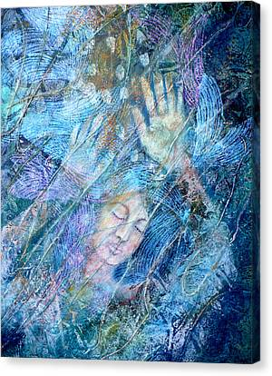 Assailed By Confusion Canvas Print by Sue Reed