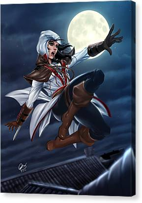 Assassin's Creed Canvas Print by Pete Tapang