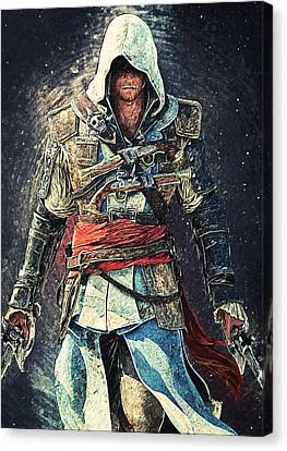 Assassin's Creed Canvas Print by Taylan Apukovska