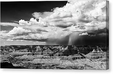 Assault On The North Rim Canvas Print by Jay Beckman