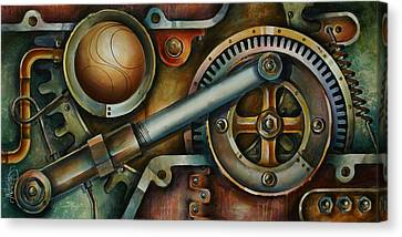 'assembled' Canvas Print by Michael Lang