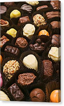 Assorted Candy Canvas Print by Garry Gay