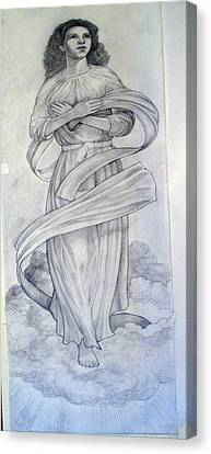 Assumption Of The Virgin Canvas Print by Patrick RANKIN