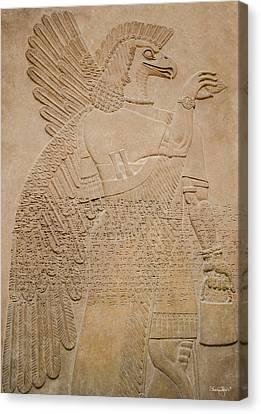 Assyrian Guardian Canvas Print