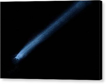 Asteroid P 2010 A2 Canvas Print by Weston Westmoreland