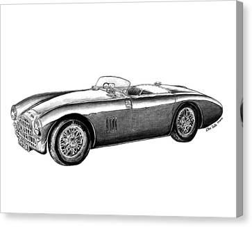 Aston Martin Db-5 Canvas Print by Peter Piatt