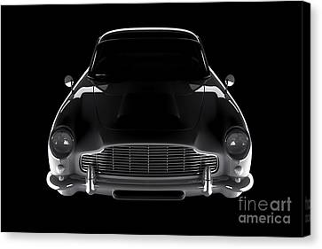 Aston Martin Db5 - Front View Canvas Print