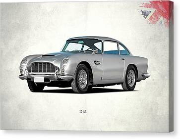 James Bond Canvas Print - Aston Martin Db5 by Mark Rogan