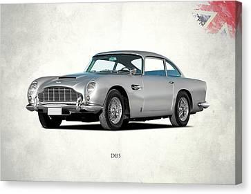 James Canvas Print - Aston Martin Db5 by Mark Rogan