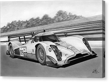 Aston Martin Lmp1 Canvas Print by Lyle Brown
