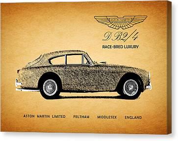 Aston Martin Race-bred Luxury Canvas Print