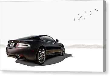 Aston Martin Canvas Print - Aston Martin Virage by Douglas Pittman
