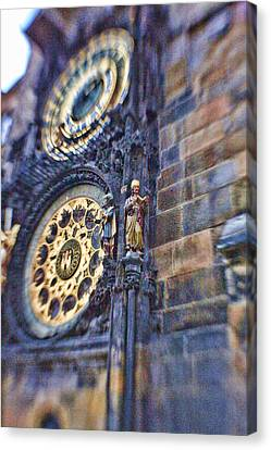 Astonomical Clock - Prague Canvas Print by James Bond