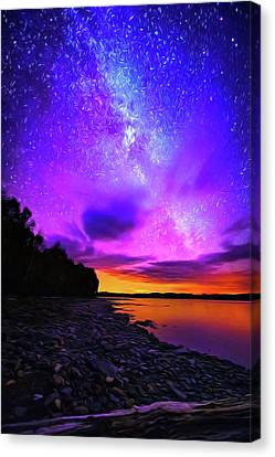 Astral Nights Canvas Print