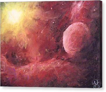 Astro Awakening Canvas Print