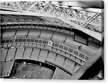 Canvas Print featuring the photograph Astrodome 10 by Benjamin Yeager