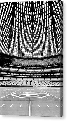 Canvas Print featuring the photograph Astrodome 7 by Benjamin Yeager