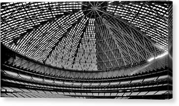 Canvas Print featuring the photograph Astrodome 8 by Benjamin Yeager