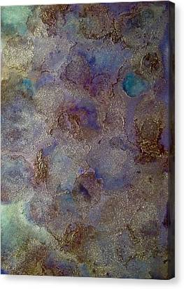 Astroid Canvas Print by Marie Haley-Twaddle
