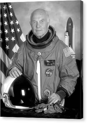 Astronaut John Glenn Canvas Print by War Is Hell Store