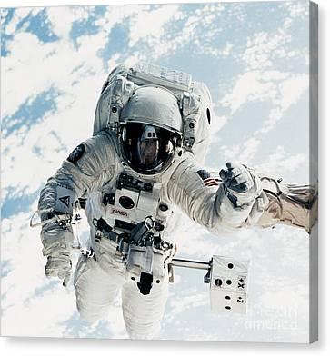 Astronaut Canvas Print by Nasa
