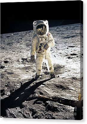 Astronauts Canvas Print - Astronaut by Photo Researchers