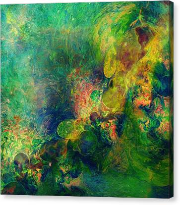 Astronomical Beauty Abstract Canvas Print