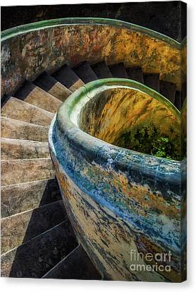 Asylum Staircase Canvas Print