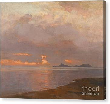 At Dusk Canvas Print by Celestial Images