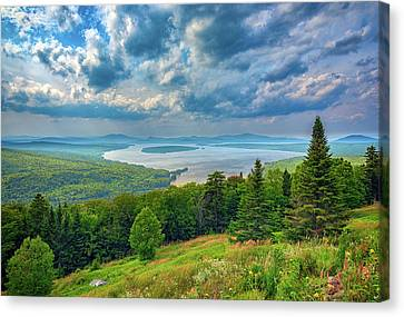 Maine Mountains Canvas Print - At Height Of Land by Rick Berk