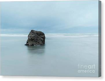 At Neptune Beach, Or Canvas Print by Masako Metz