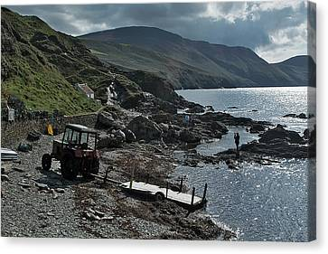 At Niarbyl Point Canvas Print by Steve Watson